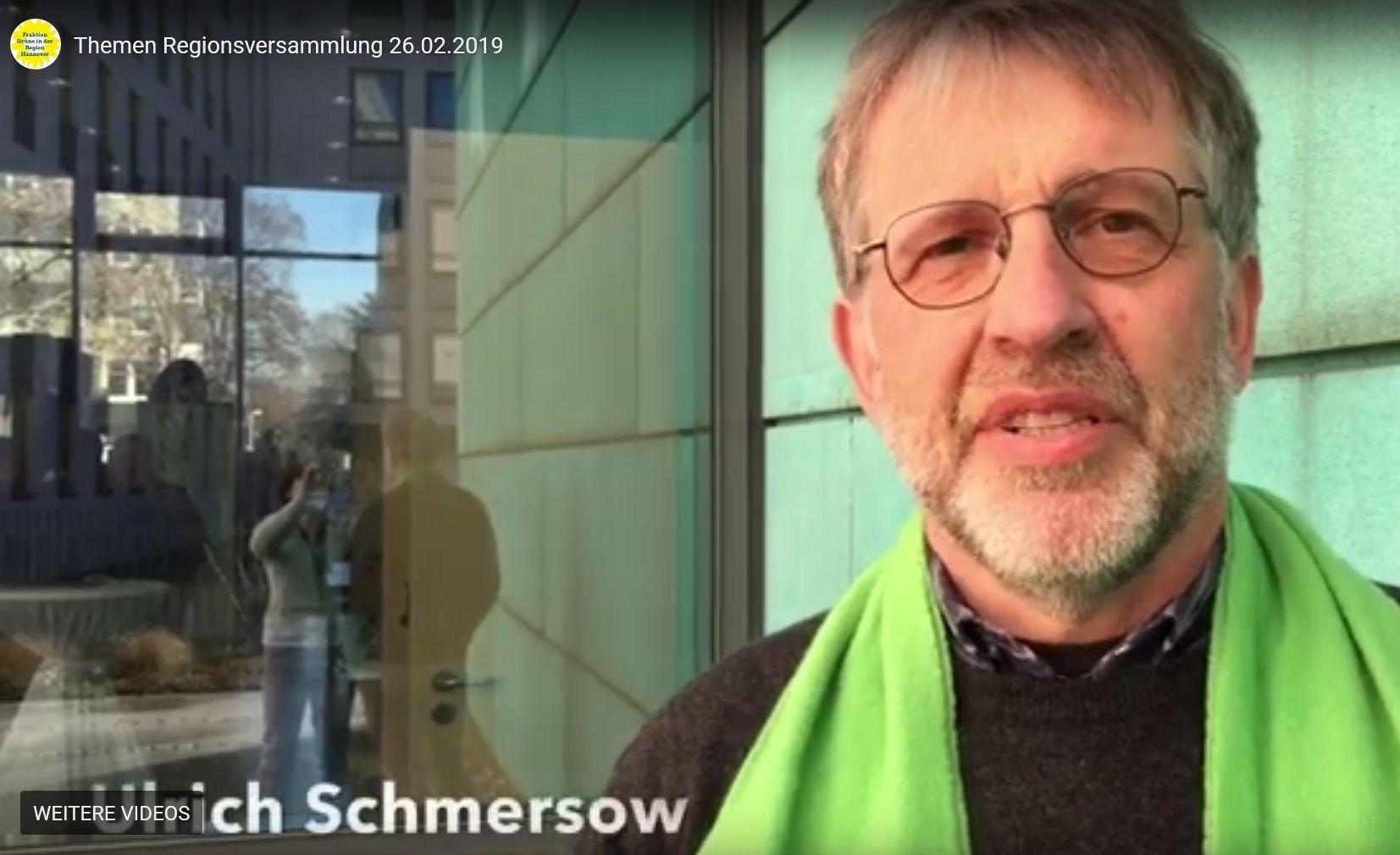 Themen der grünen Regionsfraktion am 26.2.19
